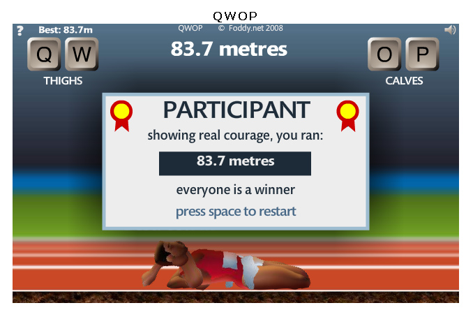 View Full Version Hardest Flash Game Ever Qwop